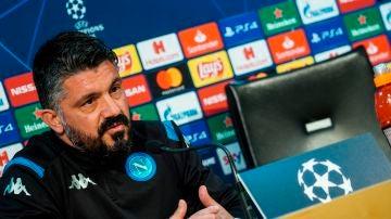 Gennaro Gattuso, en rueda de prensa