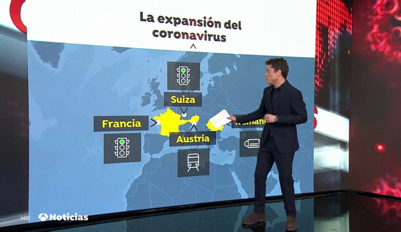 Bruselas pide cautela y llama a no cerrar las fronteras por el coronavirus