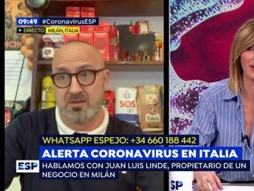 Alerta coronavirus en Italia
