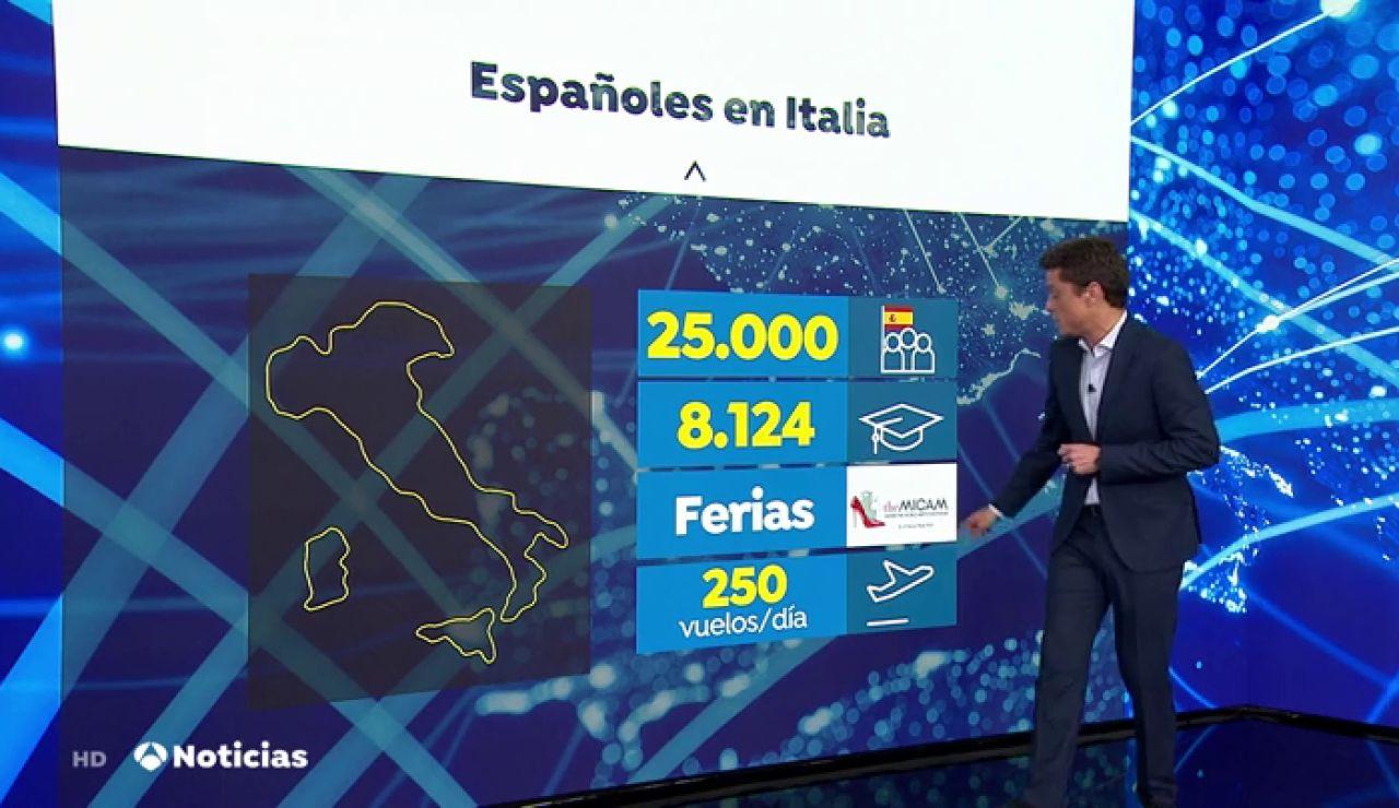 25 mil españoles viven en Italia y así les está afectando el coronavirus