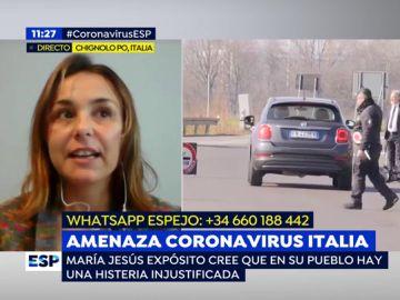 Amenaza coronavirus Italia.