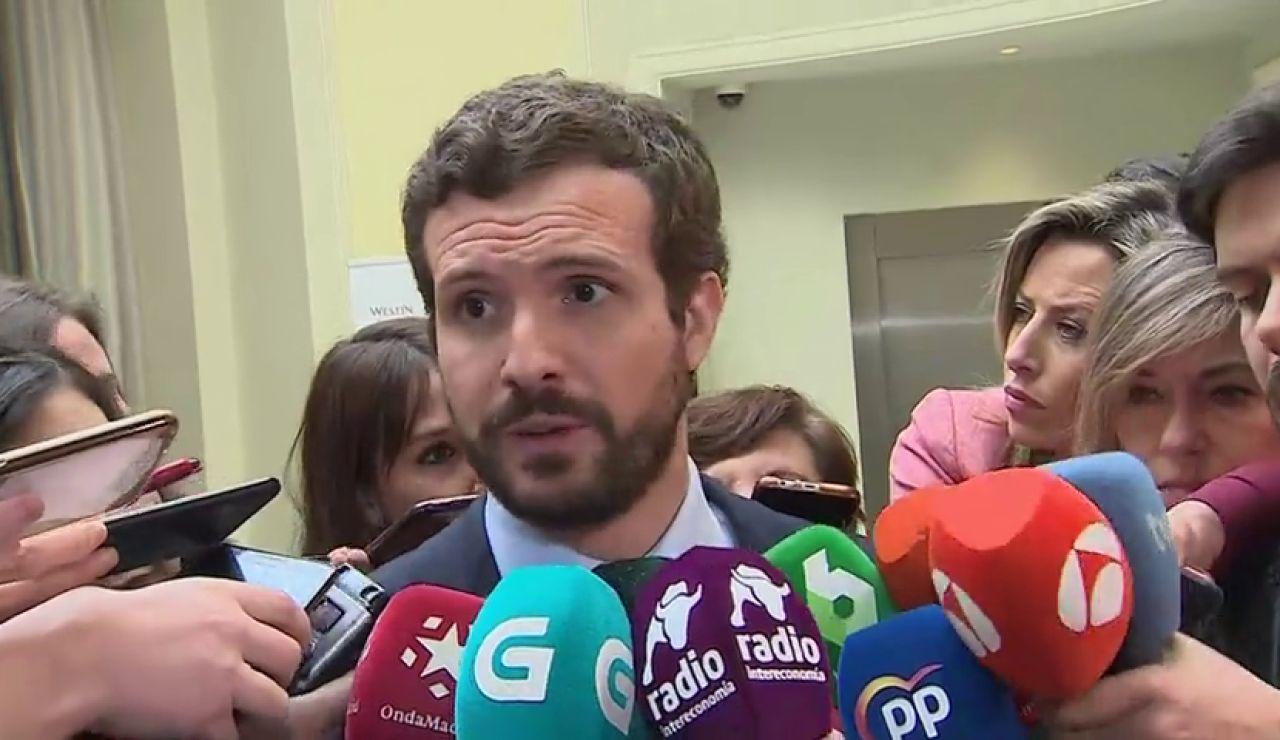 Pablo Casado defiende la coalición con Cs como primer paso para ir juntos en las generales