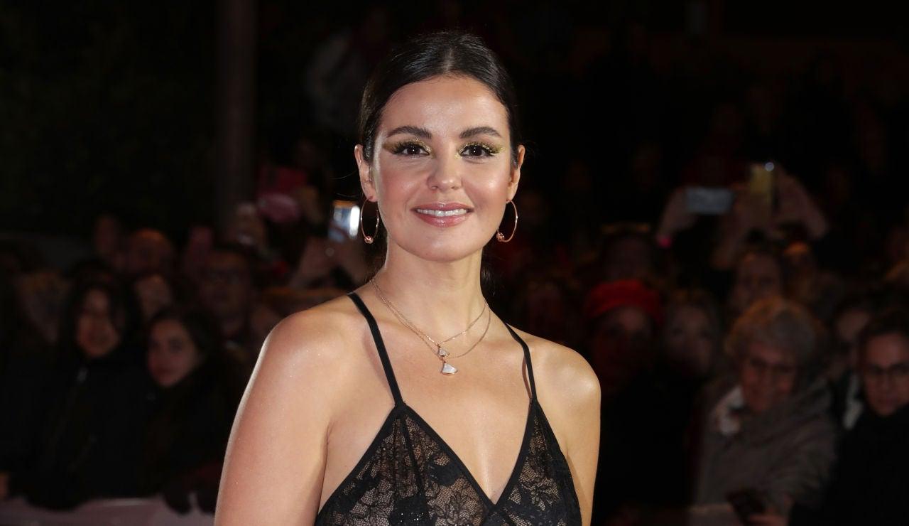 Marta Torné en los Premios Feroz