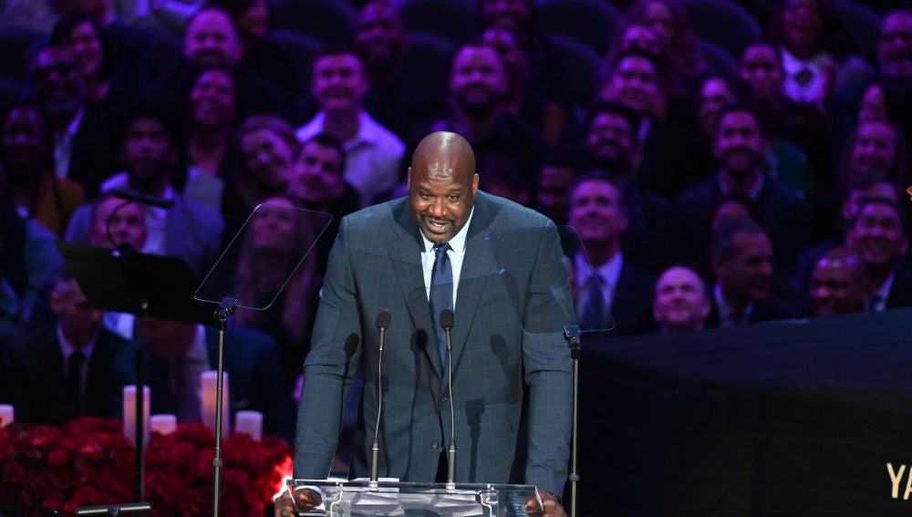 Shaquille O'Neal contando la divertida anécdota con Kobe Bryant