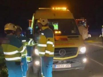 Accidente en Villaconejos (Madrid)