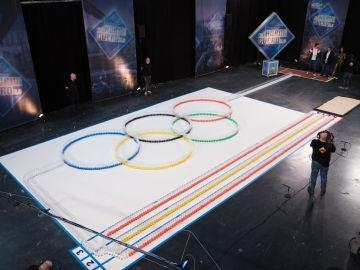 El espectacular homenaje olímpico de Marron y 'El Hormiguero 3.0' a Ana Peleteiro