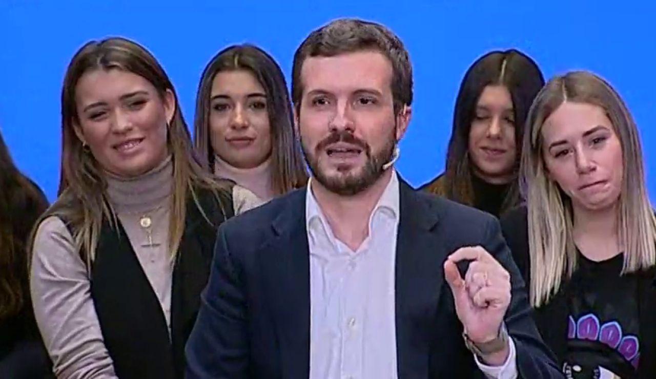 """Pablo Casado respalda en público a Cayetana Álvarez de Toledo: """"Es una extraordinaria portavoz"""""""