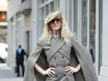El extraño look de Celine Dion