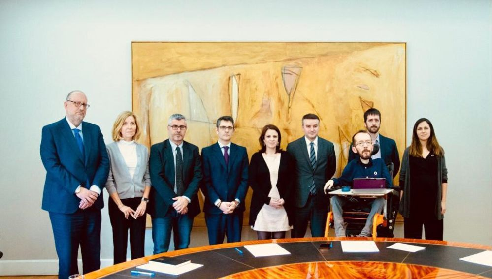 Comisión de seguimiento del pacto del Gobierno de coalición