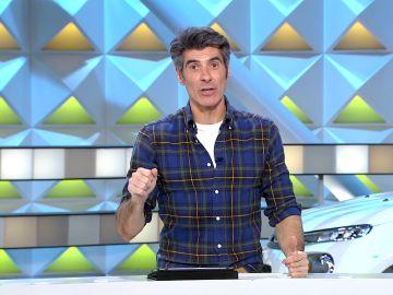 El infalible truco para lavar calcetines de Jorge Fernández en 'La ruleta de la suerte'