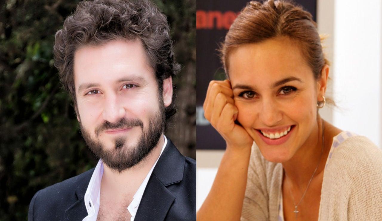 Álex Gadea y Megan Montaner