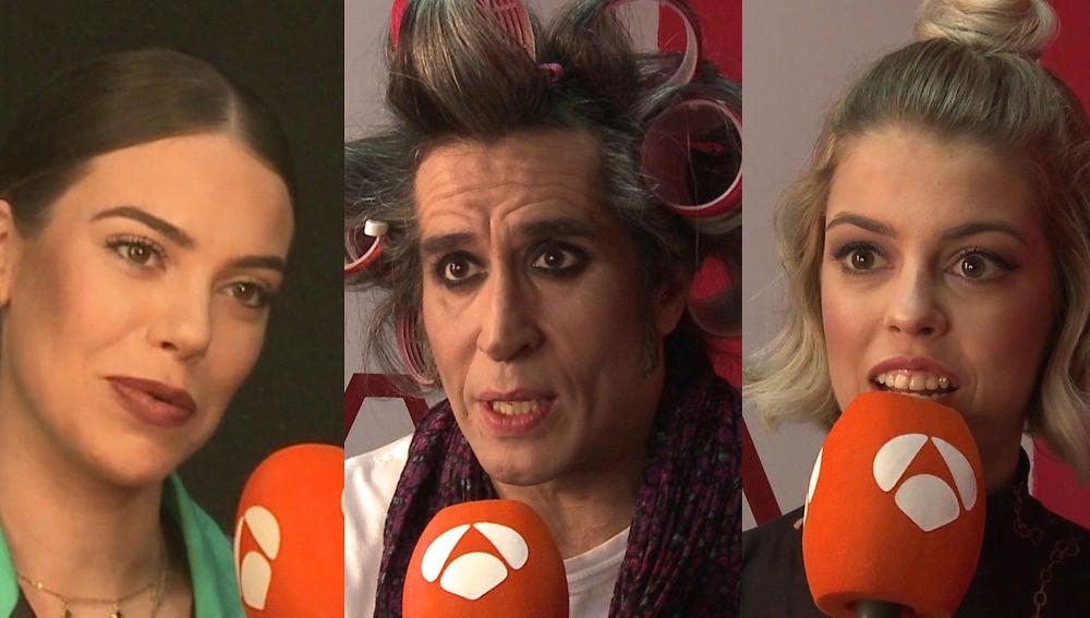 María Isabel, Mario Vaquerizo y Nerea Rodríguez valoran sus actuaciones en la novena gala de 'Tu cara me suena'