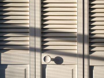 Puertas de un armario