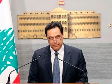 El primer ministro libanés, Hasan Diab