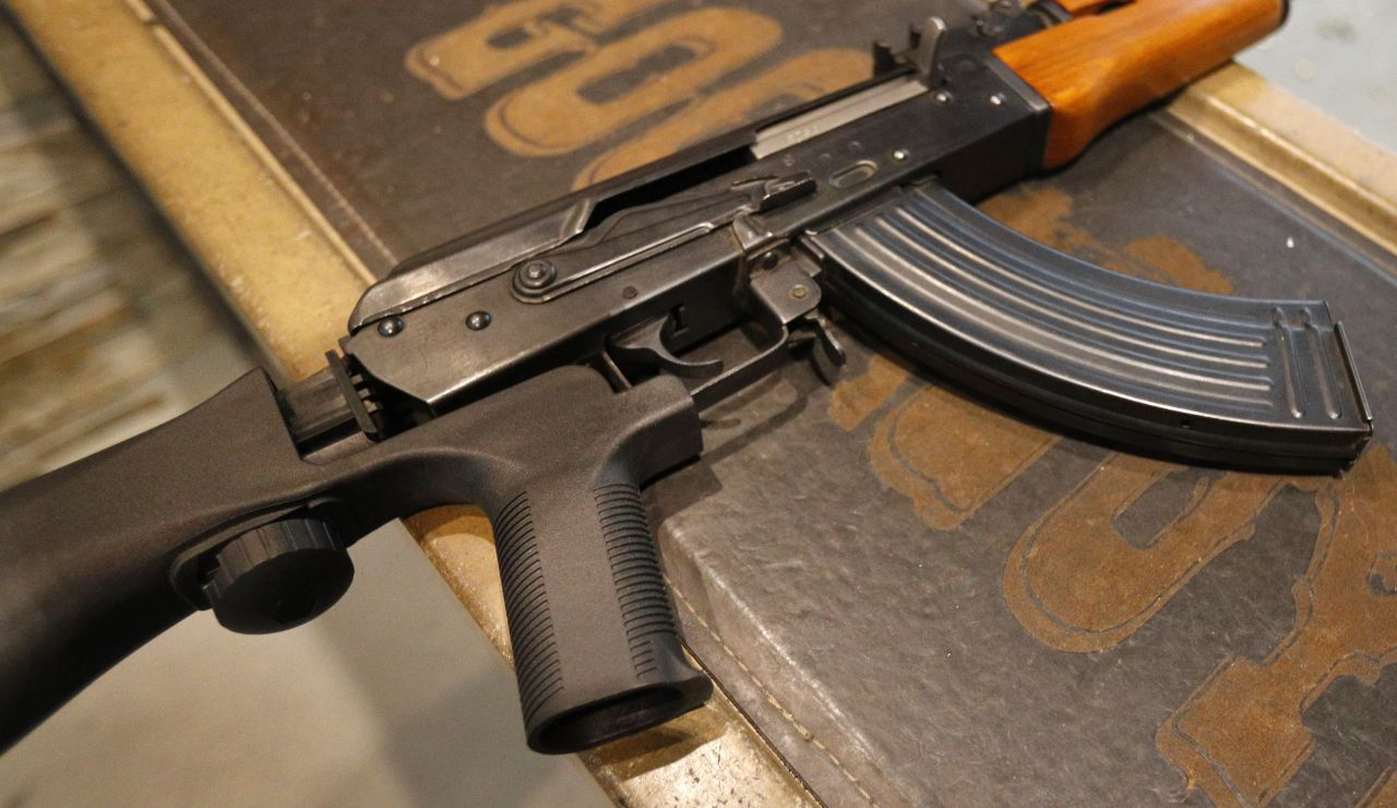 Imagen de un fusil AK-47