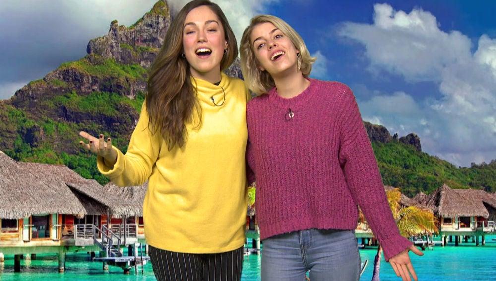 Nerea Rodríguez y María Parrado cantan 'Qué hay más allá'