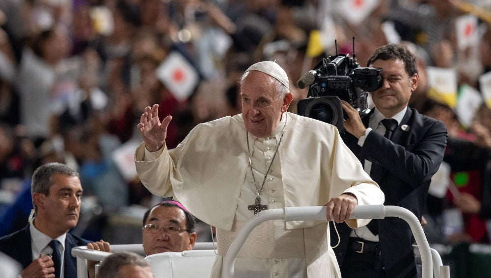 Papa Francisco en Japón