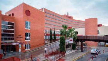 Vista del Hospital Virgen de la Arrixaca, en Murcia