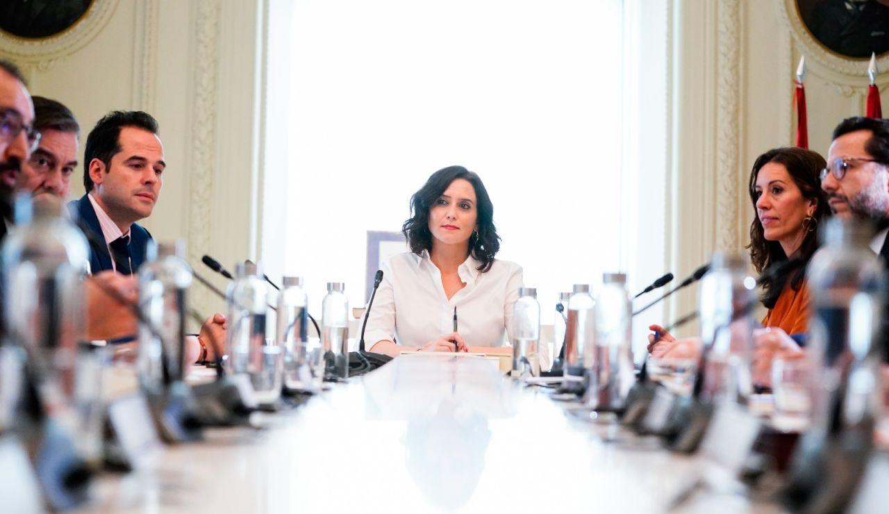 Consejo de Gobierno extraordinario en la Comunidad de Madrid para analizar la situación