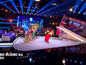 """""""Lola Índigo meando"""" hace ganar a su equipo en 'Te dance queen'"""