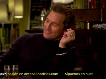 El actor Matthew McConaughey.
