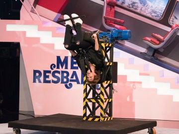Anabel Alonso saca su lado más agresivo al lanzar su zapatilla a Carlos Latre