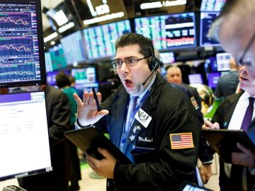 Caídas en Wall Street