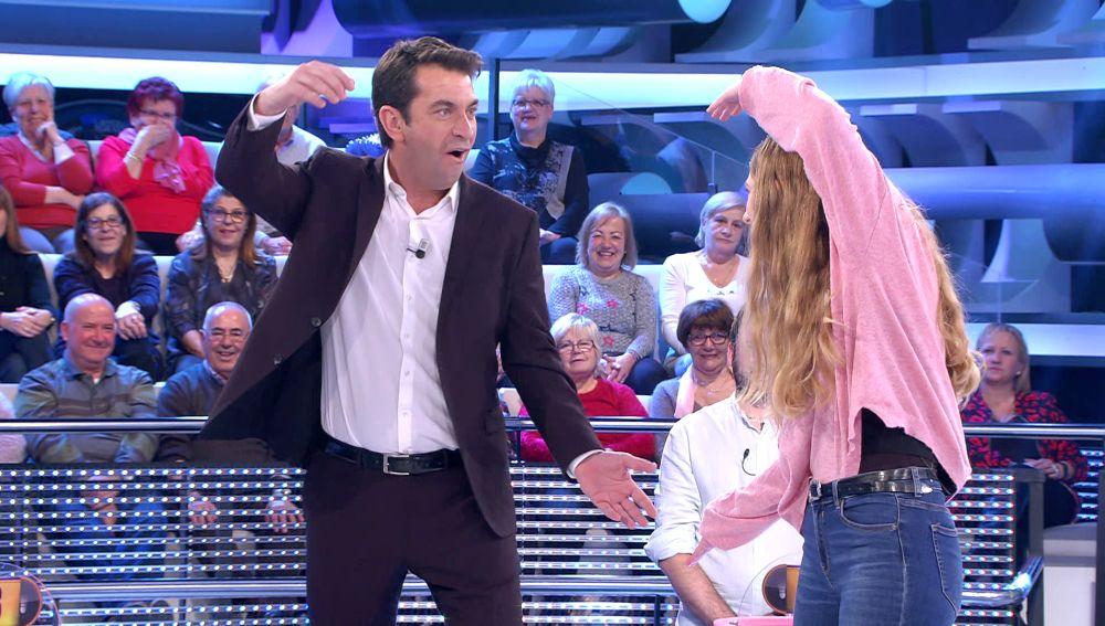 """""""¡Son 20 años con la misma broma!"""", el reproche de un concursante a Arturo Valls en '¡Ahora caigo!'"""