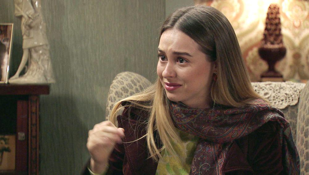 Luisita se enfrenta a  Marcelino  por defender sus sentimientos hacia Sebas