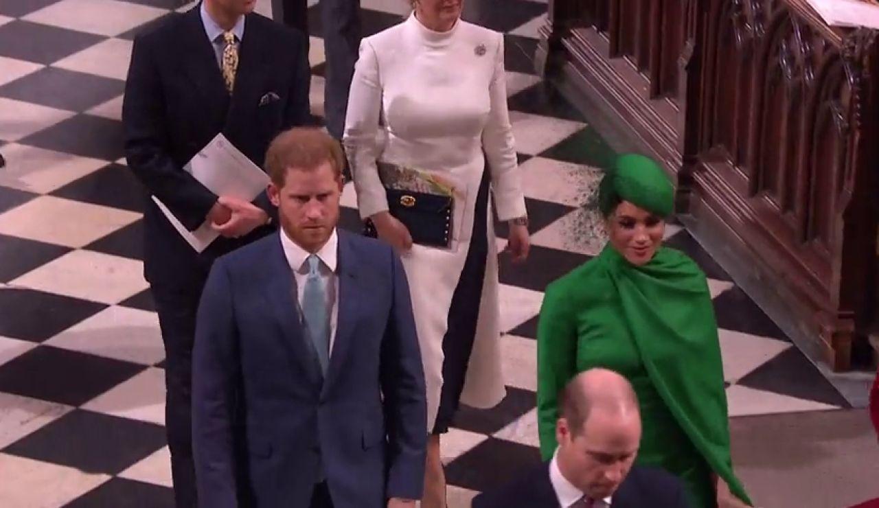 Los duques de Sussex reaparecen en el tramo final del 'Megxit', streaming en directo
