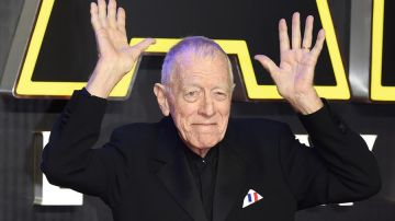 El actor Max von Sydow.
