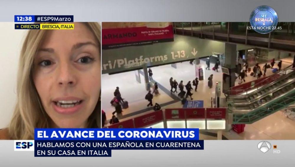 El avance del coronavirus.