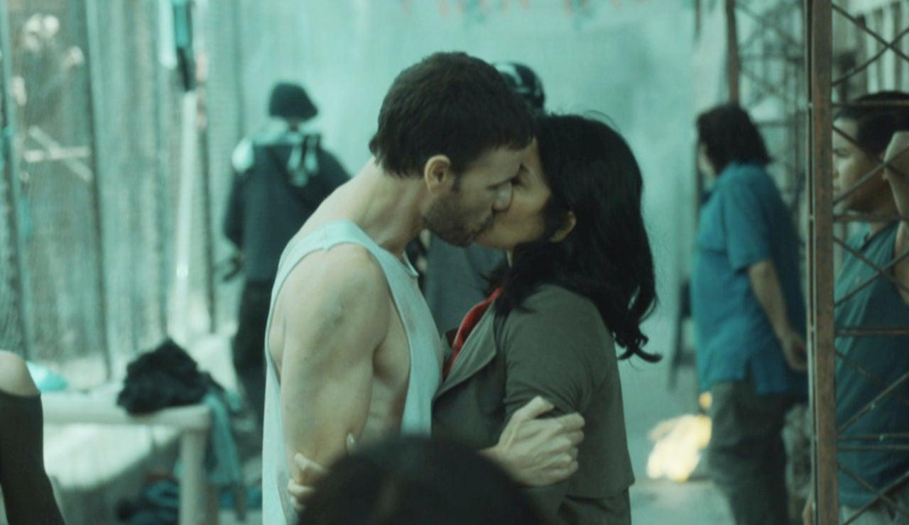 La dulce despedida entre Antonio y Angelita dentro de prisión