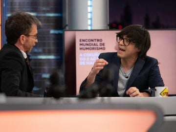 Luis Piedrahita revela una exclusiva sobre el II Encuentro Mundial de Humorismo en 'El Hormiguero 3.0'