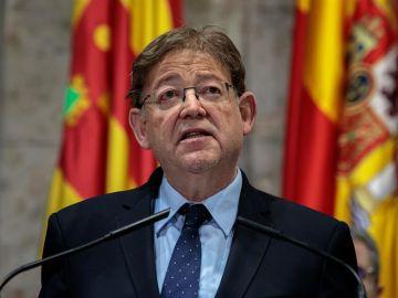 Ximo Puig, presidente de la Generalitat de Valencia.