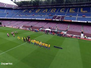 Así es el sonido del silencio en un estadio de fútbol