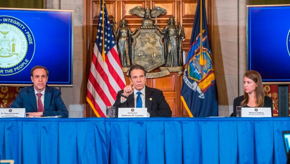 Nueva York impone cuarentena en un municipio y envia a la Guardia Nacional