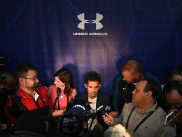 Rueda de prensa en la NBA