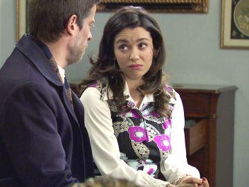 Marcelino, desesperado busca a Amelia para que vuelva a conquistar a Luisita