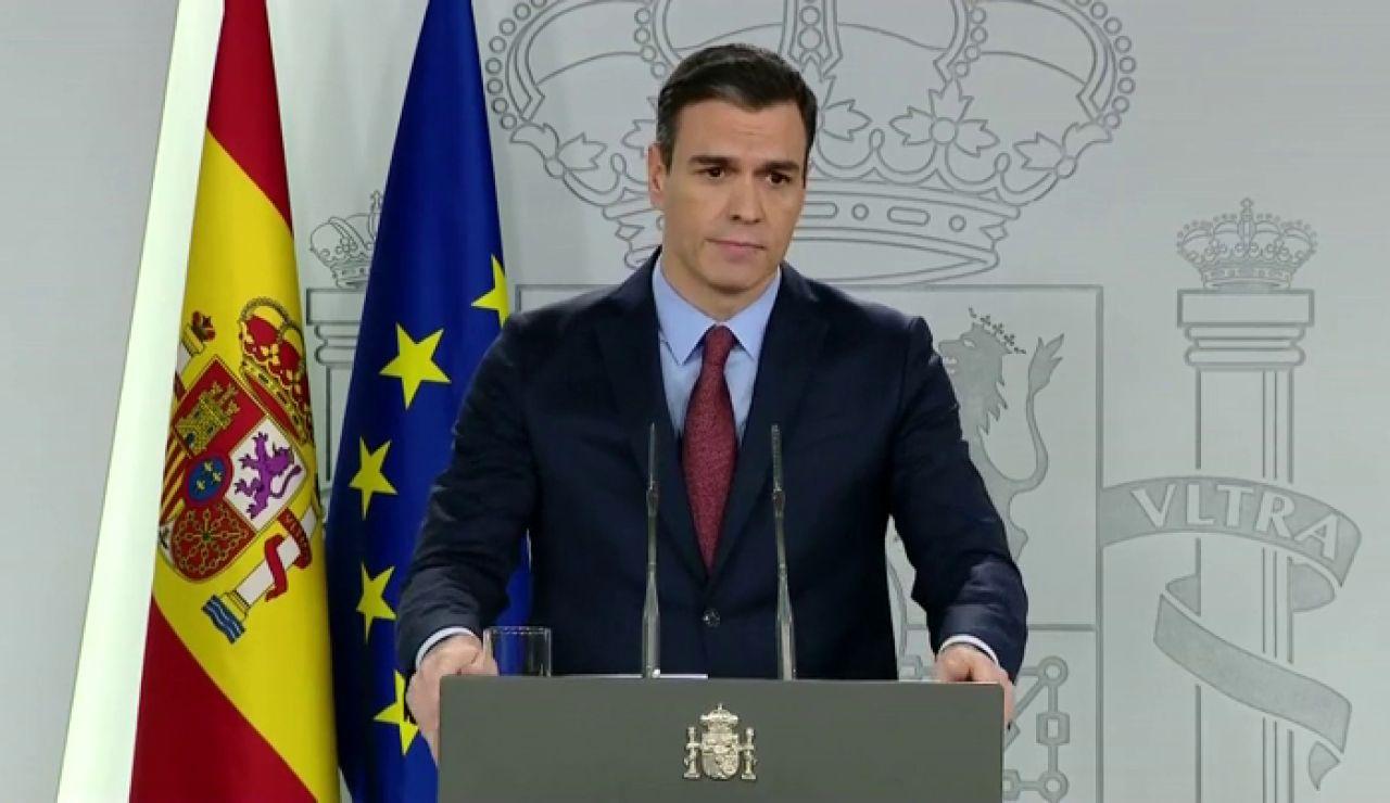 """Pedro Sánchez, sobre el coronavirus: """"Haremos lo que haga falta, donde haga falta y cuando haga falta"""""""