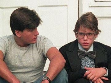 Charlie Sheen y Corey Haim en la película 'Lucas'