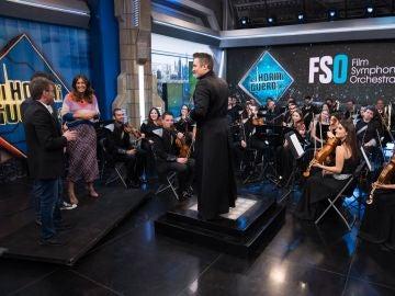El genial juego de las bandas sonoras: ¿Acertarías las sintonías que la Film Symphony Orchestra toca en 'El Hormiguero 3.0'?