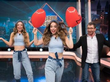Twin Melody celebran los 12 millones de seguidores en TikTok con un vídeo en directo en 'El Hormiguero 3.0'