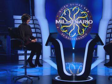 La voz interior de Lidia Fernández la lleva hasta los 15.000 euros en '¿Quién quiere ser millonario?'