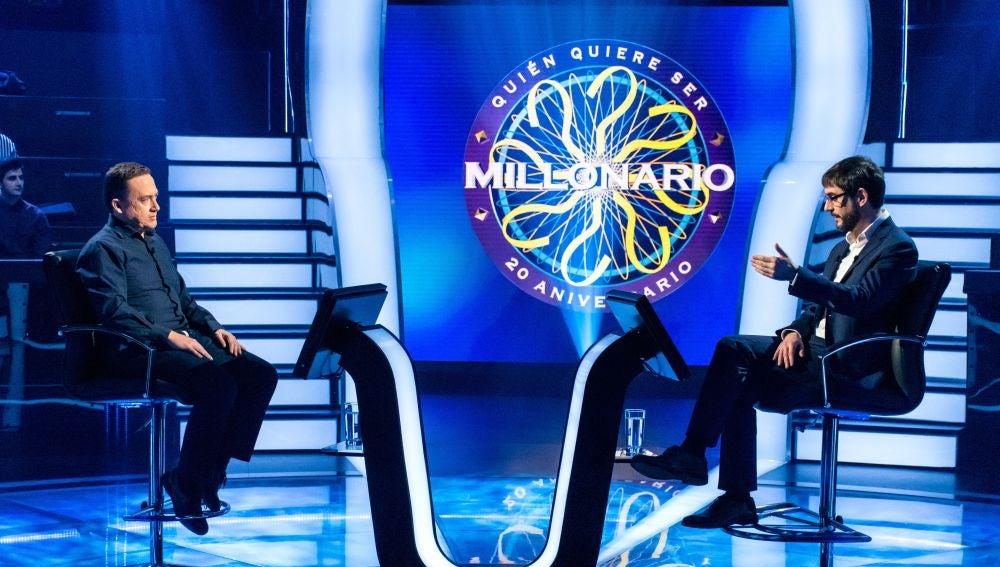 El comodín del público da la sorpresa... y Carlos Adán sufre las consecuencias en '¿Quién quiere ser millonario?'