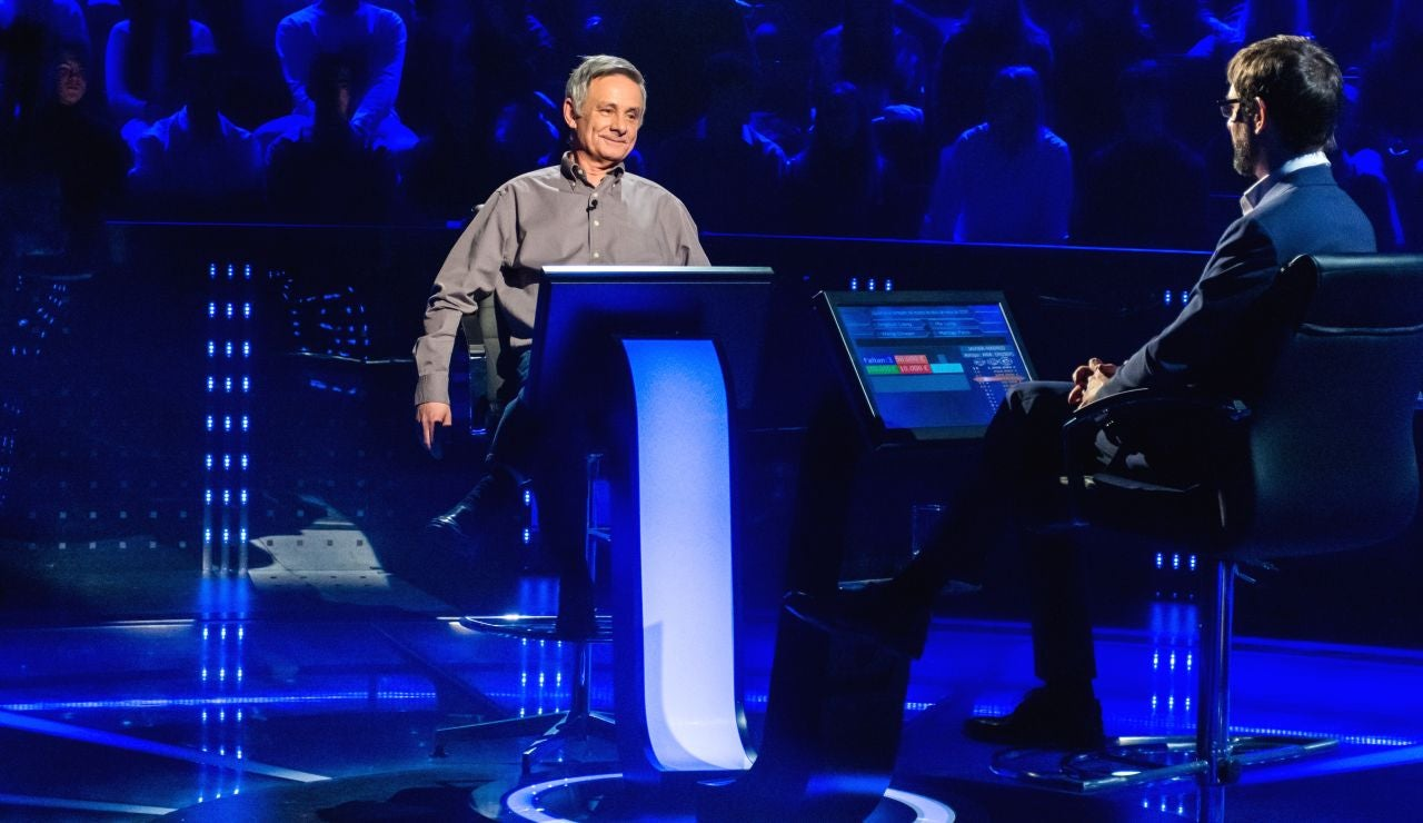 La incómoda pregunta de Javier Ajo por los 100.000 euros de '¿Quién quiere ser millonario?'