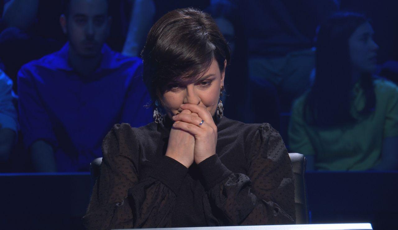El inesperado desliz con el diccionario de Lidia Fernández al borde de los 20.000 euros en '¿Quién quiere ser millonario?'