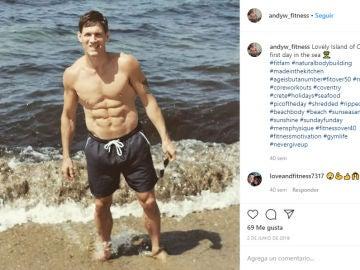 Instagram de @andyw_fitness