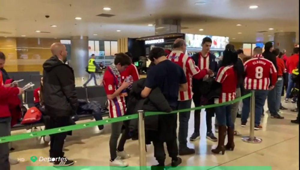 Hinchas del Atlético de Madrid
