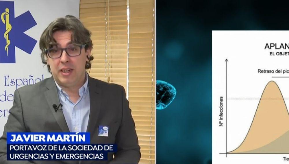 Javier Martín, portavoz de Urgencias y Emergencias